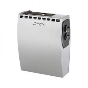 """HARVIA"" ALFA SERIES RESIDENTIAL SAUNA HEATERS COMPLETE SET WITH BUILT‐IN CONTROLLER"