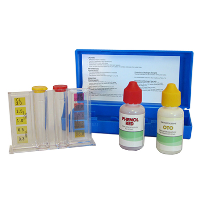 PH & CL TEST SOLUTION FOR SWIMMING POOL